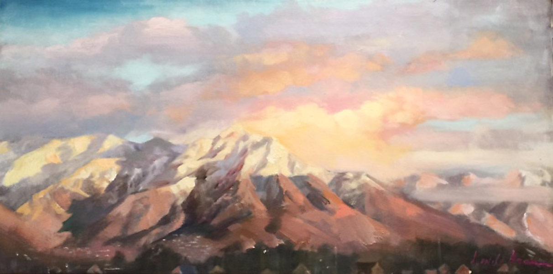 Utah Sunset by Linda Nearon Artist